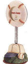 """Sport Corner: Bobbling Frame - Baseball - 7 x 3"""""""