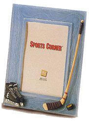 "Sports Corner: Textured Hockey Frame - 8.5 x 6.5"""