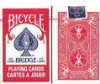Bridge Playing Cards - Bicycle Brand - (Rider Back) - Red