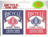 Jumbo Twin Pack Playing Cards - Bicycle Brand