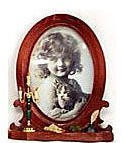 """Classic Oval Frame - Style 1 - 5 x 3.5"""""""