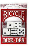 Dice Set - 5 Pieces - Bicycle Brand