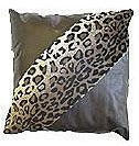 Leopard Print Patent Leather Cushion - 45