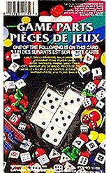 Dice Set - 5 Pieces - (Square Corners)