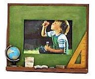 """Chalkboard Frame - 3X2"""" - Globe"""