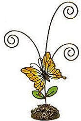 Butterfly Picture Holder - 7""