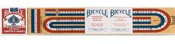 3 Track Cribbage Board with Cards - Bicycle Brand