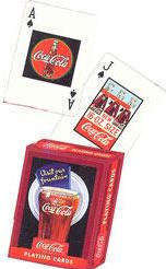 Coca-Cola Vintage Playing Cards - Style 2 - Bicycle Brand