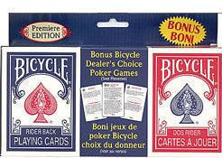 Dealers Choice - Twin Pack Playing Cards - Bicycle Brand