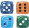 "Silk Dice - 5/8"" - 16mm - Set of 50"