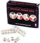Official Poker Dice Set - 5 Pieces