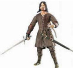 Return of the King - Deluxe Poseable Aragorn