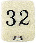 "Doubling Dice - 3/4"" - 18mm - Set of 20"