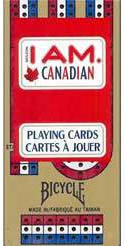 Cribbage and I Am Canadian Card Combo - Bicycle Brand