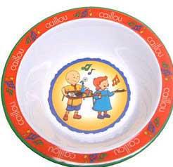 "Caillou: Dinnerware - Round Bowl - 6"""