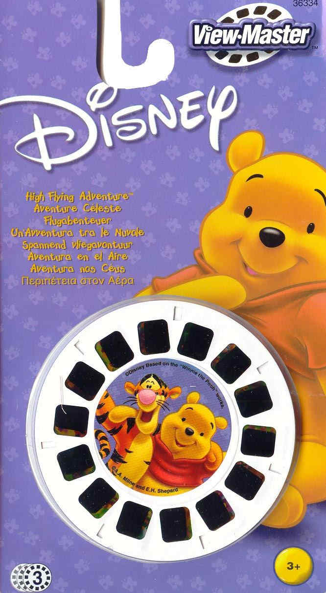 3D Reel Cards - Winnie The Pooh Adventures - Set of Three - Additional View