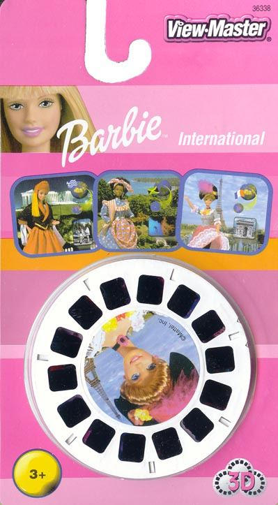 3D Reel Cards - Barbie International - Set of Three - Additional View