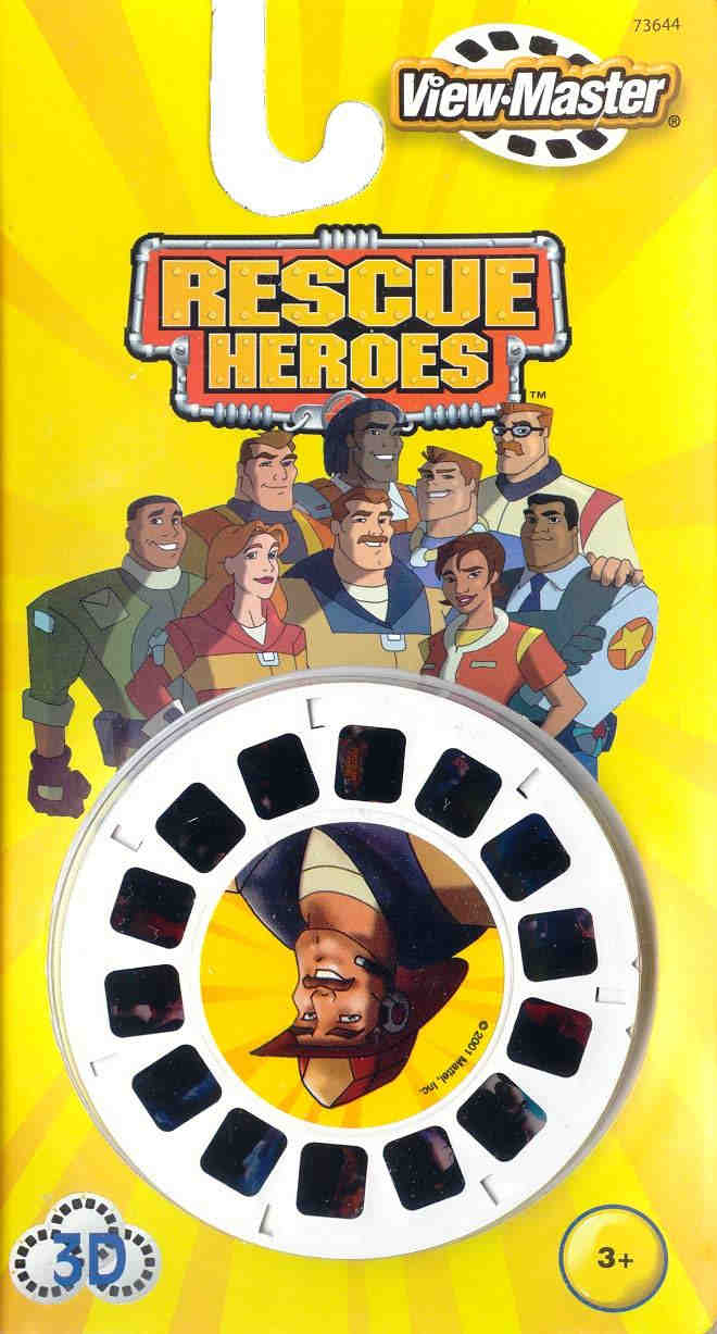 3D Reel Cards - Rescue Heroes - Set of Three - Additional View