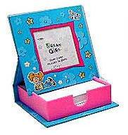 Memo Box and Photo Frame - Blue - Dream Girl