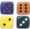 Opaque Dice - Set of 2