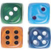 Silk Dice - Set of 25