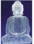 Buddha Glass Motif