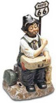 Willie On The Road - Melody In Motion Figurine