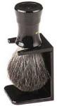 Shaving Brush - Black Stand