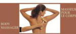 Wooden Body Massager - Curved Handle