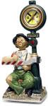 Chattanooga Choo Choo Willie Clock - Melody In Motion Figurine