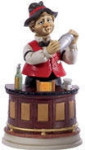 Bartender Willie - Melody In Motion Figurine