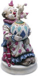 Side Street Circus - Balancing Dog with Clown - Melody In Motion Figurine
