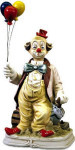 Balloon Clown - 1999 - Melody In Motion Figurine