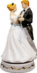 Wedding Couple - Melody In Motion Figurine