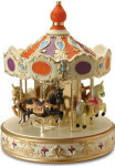 Carousel - Orange - Melody In Motion Figurine