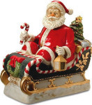 Santa Claus - 2001 - Melody In Motion Figurine