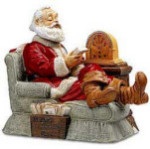 Santa Claus - 1995 - Melody In Motion Figurine