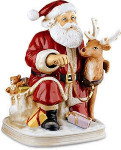 Santa Claus - 1996 - Melody In Motion Figurine