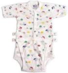 12 Months - Diapervest Diaper Shirt - Snap Front - Design