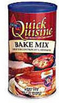 Atkins Nutritionals - Quick Cuisine Bake Mix