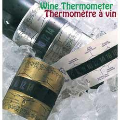 Wine Thermometer - Chrome