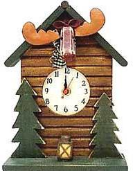 Moosehead Lodge Clock