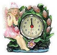 Rose Fairy Clock