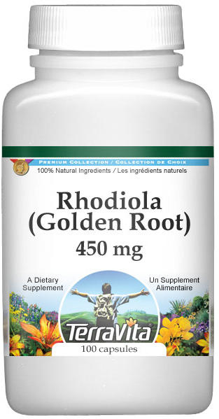 Rhodiola (Golden Root) - 450 mg
