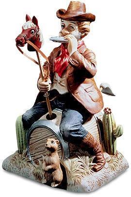 Wild West Willie - Melody In Motion Figurine