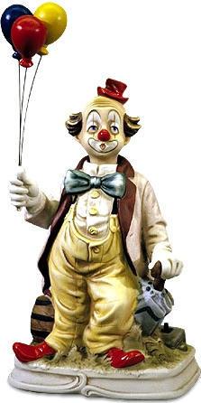 Balloon Clown - 1999 - Melody In Motion Figurine