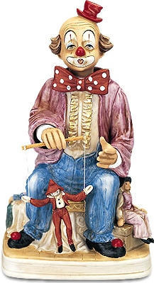 Marionette Clown - Melody In Motion Figurine