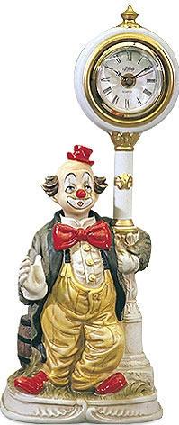 Clockpost Clown Clock - European - Melody In Motion Figurine