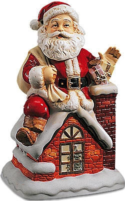 Santa Claus - 1994 - Melody In Motion Figurine