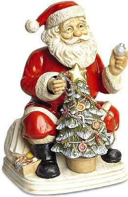 Santa Claus - 1997 - Melody In Motion Figurine